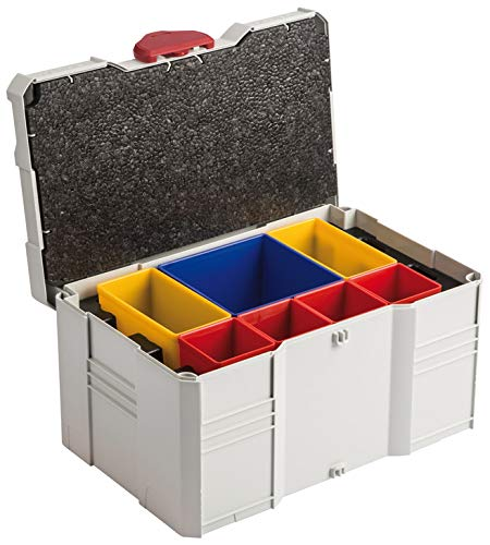 Hafele Tool Box Mini Systainer T-Loc III Set, With Removable Boxes & Insert With 3 Compartments