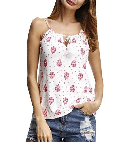 異常観光ボーナスTootess 女性のvネック塗装のカジュアルなプラスサイズのビーチタンクトップシャツ