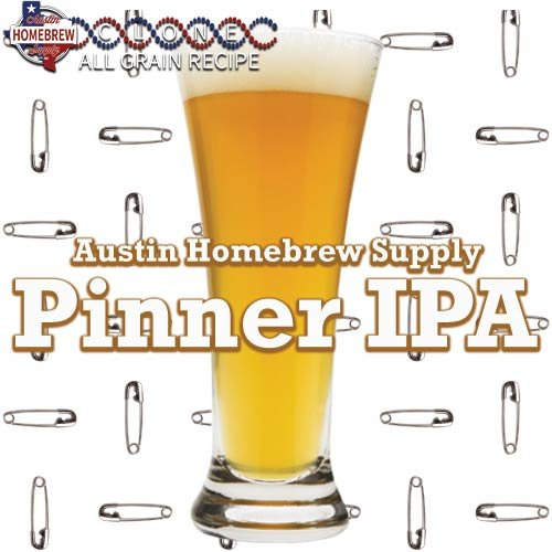 Pinner Kit (Austin Homebrew Clone Recipe Pinner IPA (14B) - ALL GRAIN)