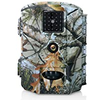 Deer Camera Olymbros T3 Trail Camera 16MP HD 1080P Wildlife Hunting Game Camera Motion Activated No Glow Infrared Night Vision Camera 65ft Range