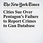 Cities Sue Over Pentagon's Failure to Report Crimes to Gun Database | Richard A. Oppel Jr.