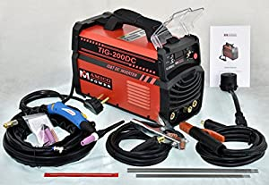 200 Amp TIG Torch/Arc/Stick DC Inverter Welder Dual Voltage IGBT Welding from AmicoPower