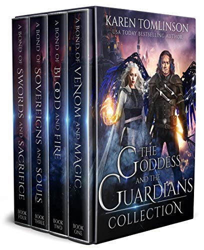 The Goddess and The Guardians Boxset: The Complete Romantic Fantasy -