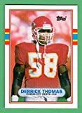Derrick Thomas 1989 Topps Traded Rookie Card **Hall of Famer** (Chiefs)