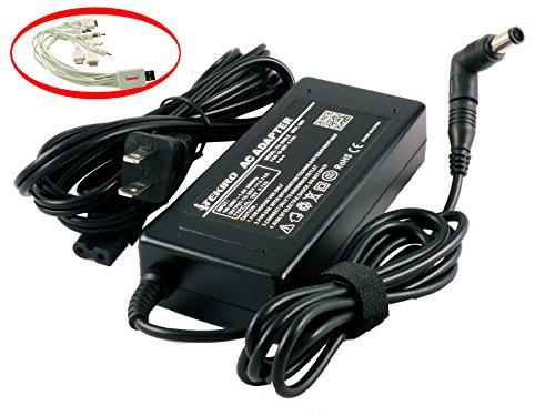 iTEKIRO 90W AC Adapter for Dell Inspiron 17 3721, 17 3737, 17 7737, 17R 5720, 17R 5721, 17R 5737, 17R 7720, 17R N7010, 17R N7110; Dell Latitude 11 3150, 13 3350, 14 5480, E6540, P21T, P47G (Dell Case 1121 Laptop Inspiron)
