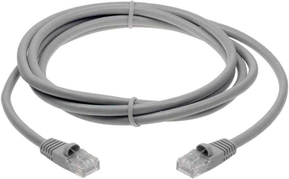 Gray 3ft Cat 5E Crossover UTP Ethernet Network Cable