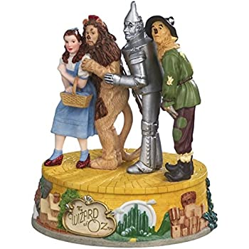 The Wizard of Oz Four Character Musical Figurine by The San Francisco Music Box