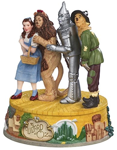 The Wizard of Oz Four Character Musical Figurine by The San Francisco Music (Collectible Music Box Gift)