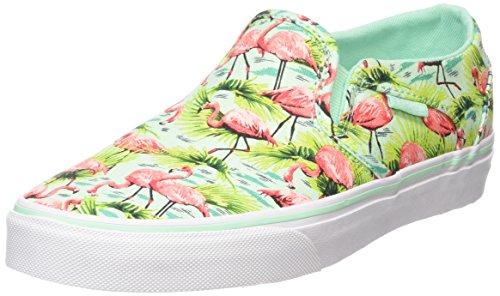 Vans Asher - Zapatillas Mujer Multicolor (flamingo/mint)