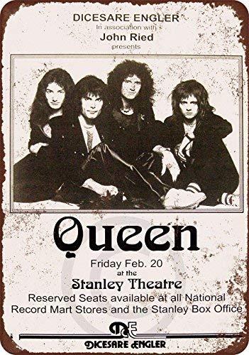 qidushop 1976 Queen In Pittsburgh Reproduction - Cartel de ...