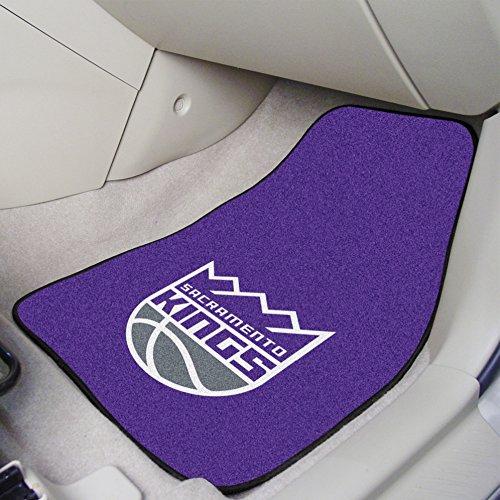 Sacramento Kings Car Mats - FANMATS NBA Sacramento Kings Nylon Face Carpet Car Mat