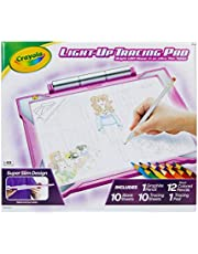 Crayola Light Up Tracing Pad Light Board, Pink, Multi