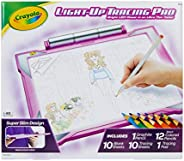Crayola Light Up Tracing Pad Pink, AMZ Exclusive, at Home Kids Toys, Gift for Girls &