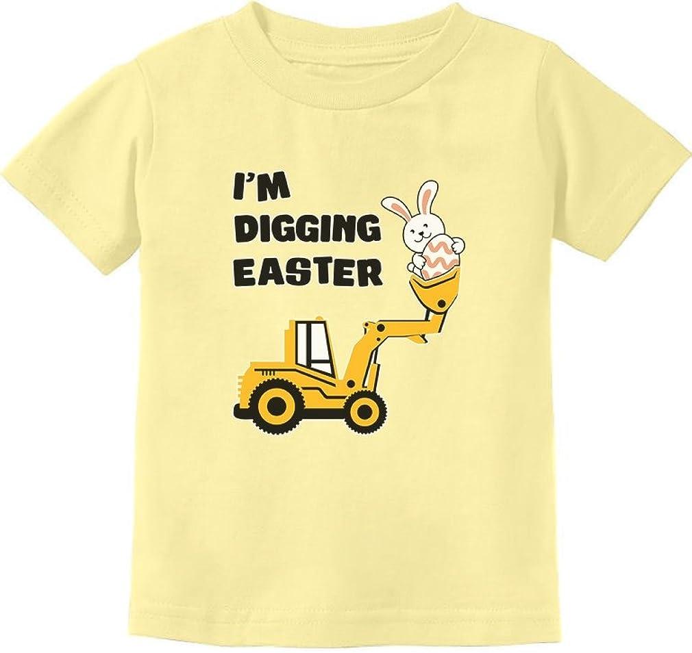 Tstars Chicks Dig me Funny Boys Easter Toddler//Kids Long Sleeve T-Shirt