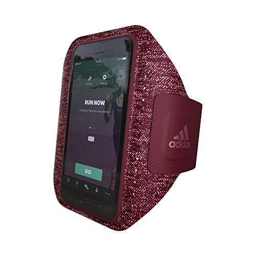 adidas Running - Sport Armband für Apple iPhone & Samsung Handys - Sportarmband - Handy Armband - Smartphone Armband Handyhülle für Jogging, Laufen, Fitness & Sport usw. Collegiate Burgundy - iPhone 8/7/6