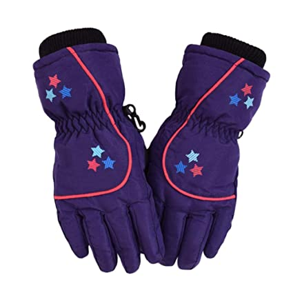 1550f57c371a Amazon.com  Kids Winter Snow Ski Gloves