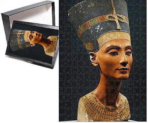 Photo Jigsaw Puzzle of GERMANY. Berlin. Nefertiti Bust. Egyptian Museum (Statues Egyptian Museum)