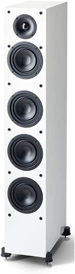 Paradigm Monitor SE 6000F Floor Standing Speaker in Gloss White (Single)