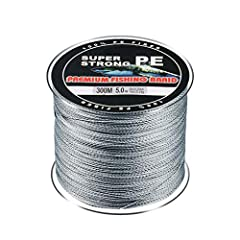 Descriptions:4-strand PE wire, material from Japan, unique woven structure made of ultra-high strength PE fiber.This fishline has a special coating that is smoother than ever.This fishing line has excellent strength and toughness, is more dur...