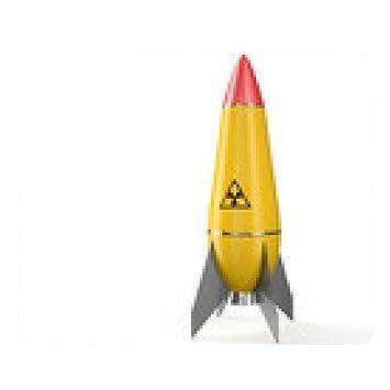 alfombrilla de ratón Nuclear de misiles aire amarillo ...