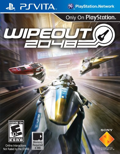 Wipeout 2048 - PlayStation Vita (Best Racing Game For Vita)