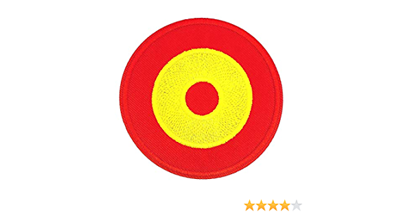 Gemelolandia | Parche Termoadhesivo de la Escarapela de Aviacion Española 6cm | Muy Adherentes | Patch Stickers Para Decorar Tu Ropa | Fáciles de Poner: Amazon.es: Ropa y accesorios