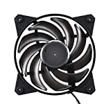 Cooler Master MFY-B2NN-13NMK-R1 MasterFan Pro 120 Air Balance- 120mm Hybrid Black Case Fan, Computer Cases CPU Coolers and Radiators