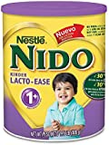 Nido Kinder Lacto-ease 1+ Reduced Lactose Fortified Powdered Milk Beverage, 28.1 Ounce