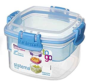 Amazon Sistema Snack To Go 135 Oz 400 ML 2