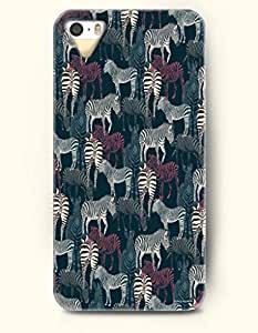 SevenArc Phone Cover Apple iPhone case for iPhone 4 4s -- Millions Of White and Maroon Zebra