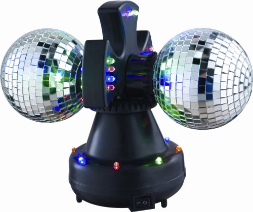 VEI Double LED Mirror Ball