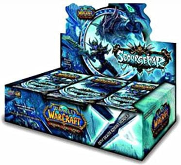 World of Warcraft TCG WoW Trading Card Game Scourgewar Booster Box 24 - Wow Tcg Booster