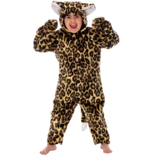 Leopard Costume for Kids. For children 4-6 - Leopard Boys Costume