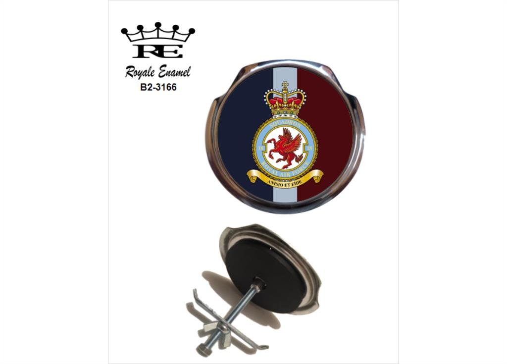 高級素材使用ブランド ROYALE ENAMEL ROYALE CAR 18 GRILL BADGE BADGE - ROYALE ROYALE AIR FORCE 18 SQUADRON B2。 3166 B076W28366, カリヤシ:7e7d1fbe --- mcrisartesanato.com.br