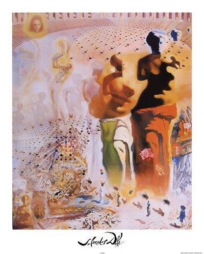 (The Hallucinogenic Toreador, c.1970 by Salvador Dali - 16x20 Inches - Art Print Poster)
