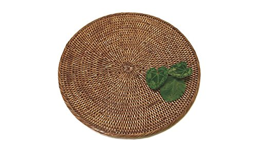 Honey Rattan (Artifacts Trading Company ATC-BS714M Artifacts Rattan Placemat, One Size, Honey Brown)
