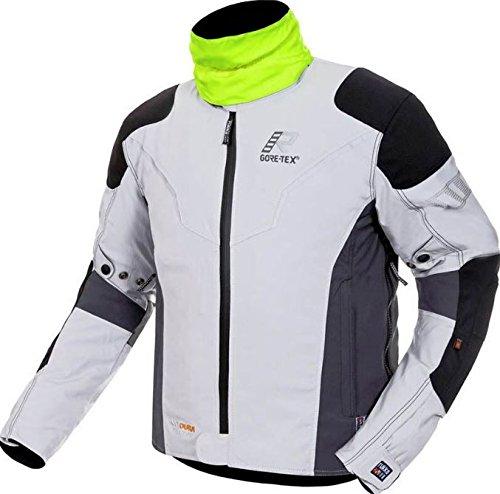 Rukka ルッカ Elas Jacket ジャケット ホワイト/ブラック/イエロー 58-US size XXL B07BFP8L9L 58-US size XXL  58-US size XXL