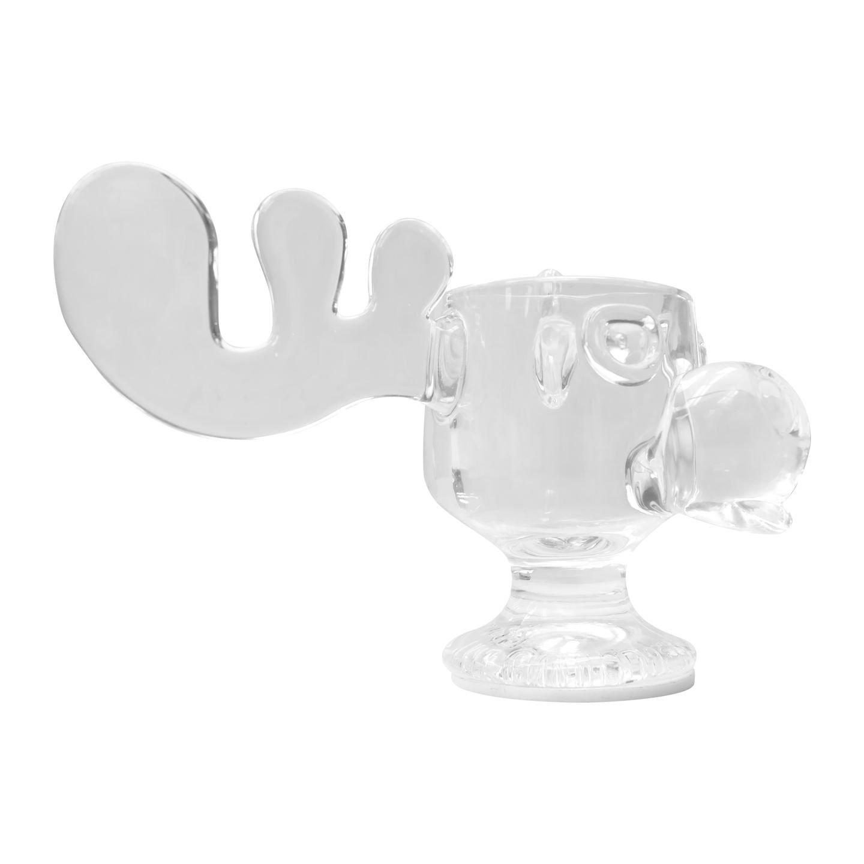 1-Pack National Lampoons Christmas Vacation Glass Moose Mug with Light