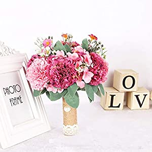 Wedding Flowers Bridal Bouquets Handmade Artificial Bouquet De Mariage Pink White Yellow Purple Flower Bouquets New 21