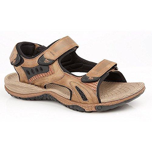 Pdq Menns Superlight Sport Sandaler Lys Brunfarge. sko; blandet ...