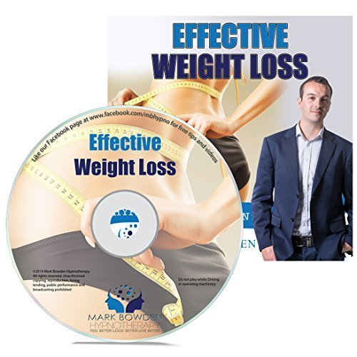 Effective Weight Loss Self Hypnosis CD / MP3 and APP (3 in 1 Purchase!) by Mark Bowden Hypnotherapy