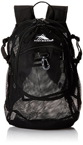 High Sierra 53638-1041 Airhead Backpack, Black, - Sale For Mesh Backpacks