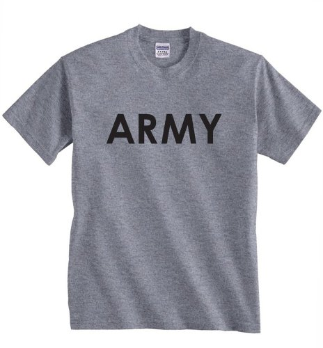 Physical Training PT T-Shirt M Heather Grey (Marines Grey Physical Training T-shirt)