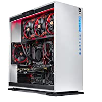 SkyTech Omega Gaming Computer Desktop PC Intel i7-8700K 3.7Ghz, Liquid Cooled, GTX 1080 Ti 11GB, 250G SSD with 3D NAND, 2TB HDD, 16GB DDR4, Z370 Motherboard, Win 10 Home