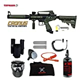 MAddog Tippmann Cronus Tactical Private HPA Paintball Gun Package – Black/Olive