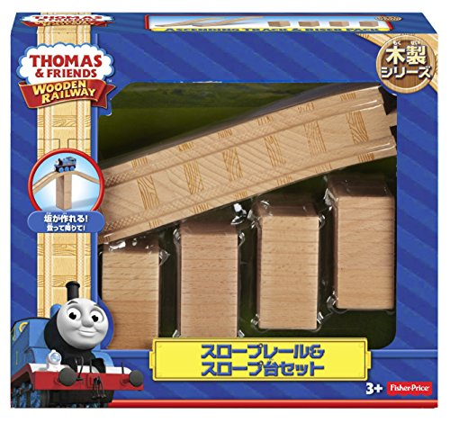 Fisher-Price Thomas & Friends Wooden Railway, Series Ascending Track & Riser Pack - Battery Operated