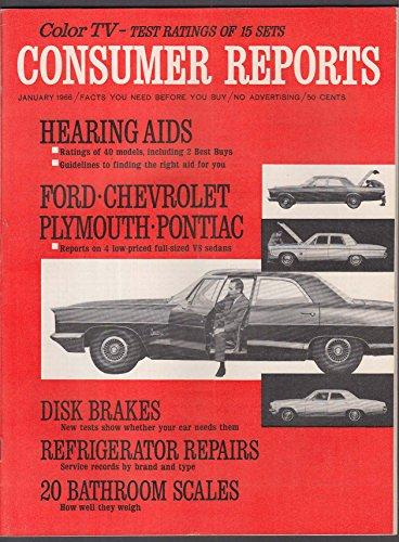 Pontiac Catalina - CONSUMER REPORTS Ford Galaxie Chevy Impala Plymouth Fury Pontiac Catalina 1 1966