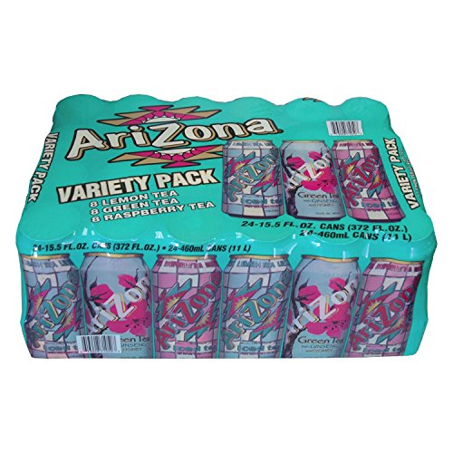 Beverage Ice Tea - Arizona Iced Tea Variety Pack 15.5 Oz Can (Pack of 24)