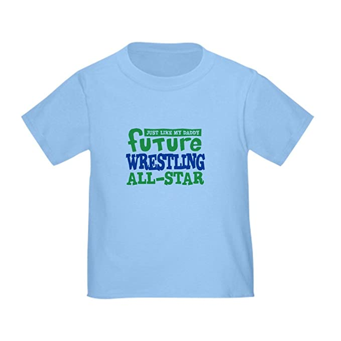 b0967bf5 CafePress Future Wrestling All Star Boy Toddler T-Shirt Cute Toddler T-Shirt ,