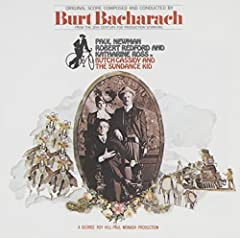 Bacharach crafted some of his all-time finest songs and instrumentals for this classic 1969 soundtrack. Raindrops Keep Fallin' on My Head (the B.J. Thomas smash and an instrumental version) join The Sundance Kid; Come Touch the Sun; South Ame...